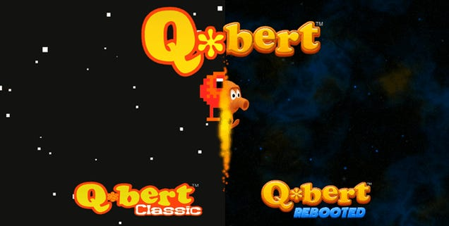 Q*Bert Rebooted For Today's Short Attention Span Gamers