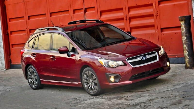 2012 Subaru Impreza: First Drive