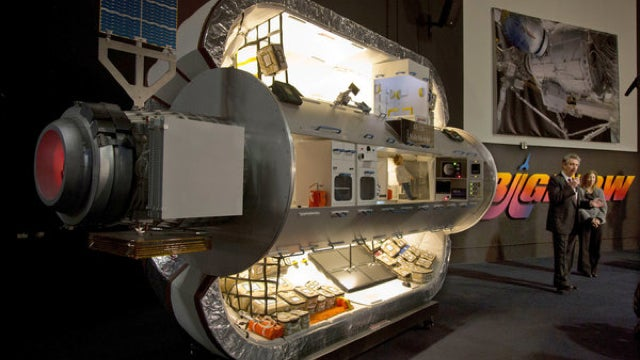 NASA to launch inflatable cabins into space