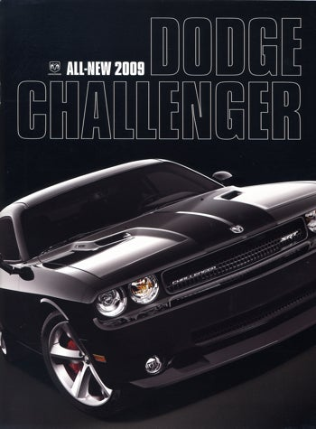 2009 Challenger Brochure Hits Web, Gives Us A 70s Flashback