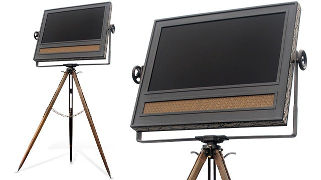 The Retro Charms Of This Tripod TV Will Cost You Thirty-Five Grand