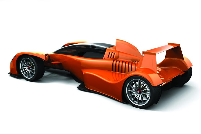 2009 Caparo T1 Launches At Salon Privé