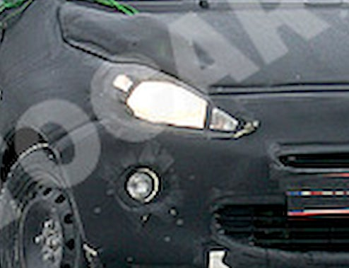 2010 Ford Ka Spied In Europe