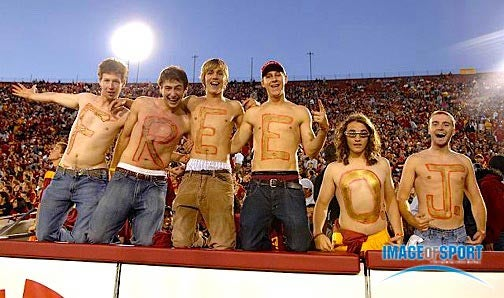 Trojans Fans Have Their Eyes On The Prize