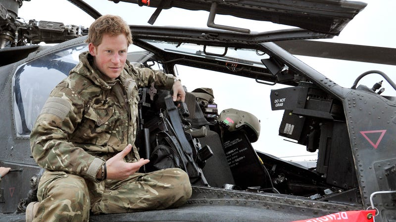 Prince Harry Says He 'Can't Wait' to Be an Uncle and Also Don't Forget About His Nude Penis, Please