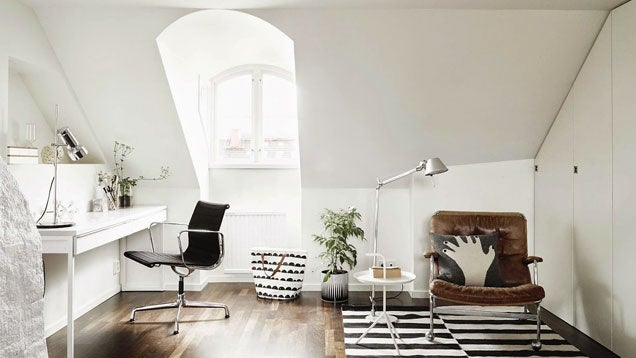 The Sleek Scandinavian Workspace