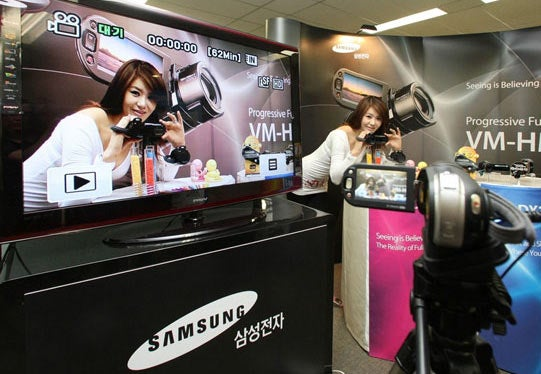 Samsung Challenges Casio with $850 Slow-Mo HMX20 HD Camcorder