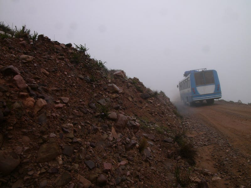 Meeting Buses At 13,000 Feet