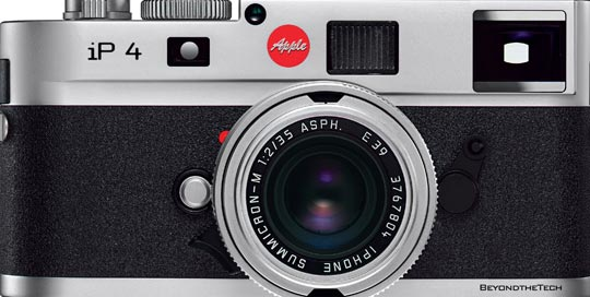Here's A Way To Make Your iPhone 4 Really Look Like A Leica Camera