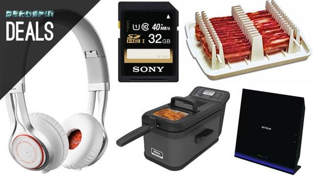 Deals: Fantastic Wireless Headphones, Faster Bacon, Cheap Backpacks