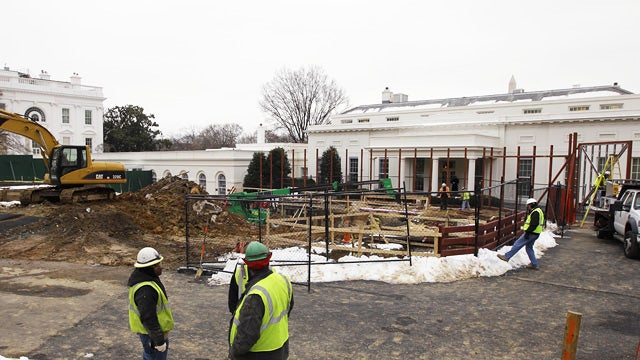White House Constructing 'Mysterious Tunnel' to Obama's Evil Lair