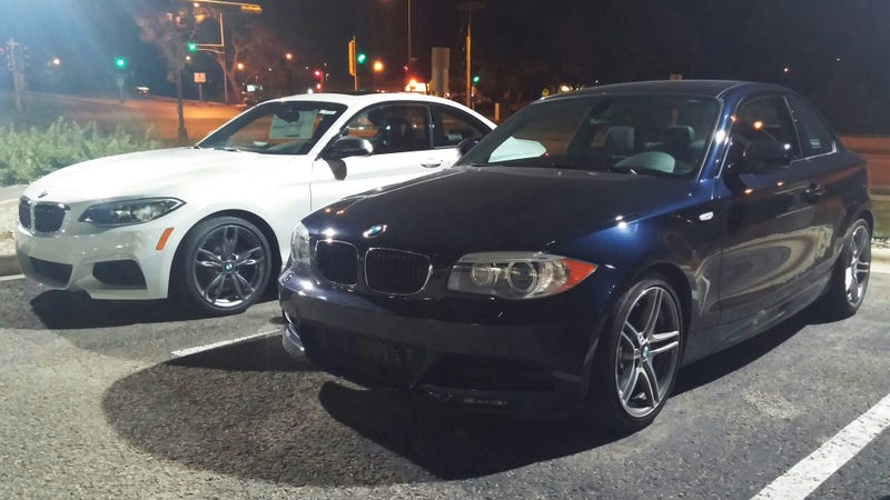 Parking lot battle: 135is vs. M235i
