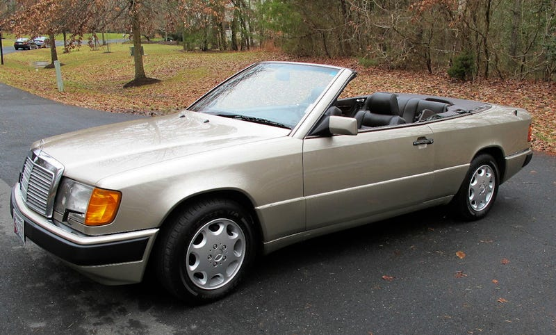 For $27,500, Will This Soft-Top Benz Make Your Firm?