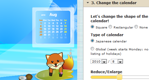Make Your Own Firefox-Themed Wallpaper with an Embedded Calendar