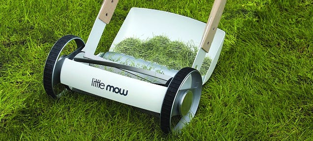 Lawn Care Is a Performance, Not a Chore, With this Lovely Push Mower