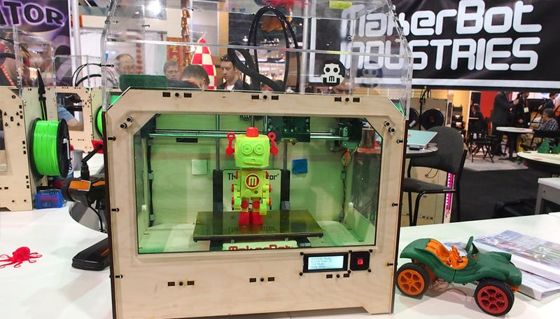 Hands On With MakerBot's Bigger, Better, Two Color 3D Printer