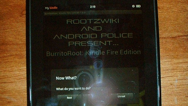 BurritoRoot Easily Roots the Kindle Fire, Even with Amazon's Anti-Root Update