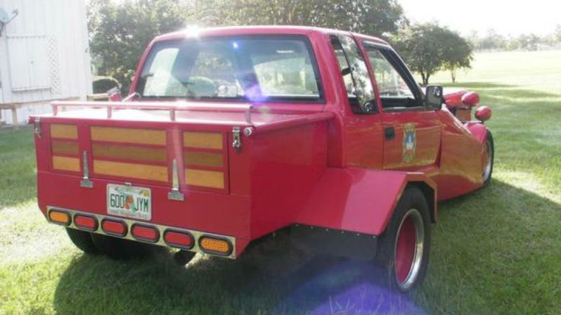 This Insane Perversion Of A Chevy S-10 Has A Fire Truck V12