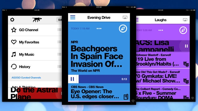 Agogo Combines News, Talk, Comedy, and Music into One Beautiful App