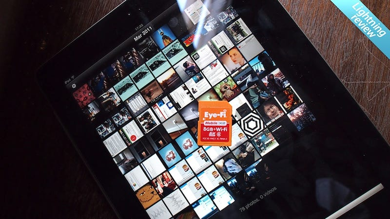 Eye-Fi Mobile X2 SD Card: Screw a Computer, Send Those Photos Straight to Your Mobile Devices