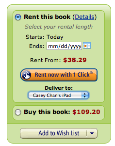 You Can Rent Textbooks on Your Kindle for Cheap Now
