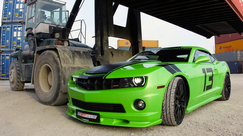 German tuner Hulk-smashes Camaro SS