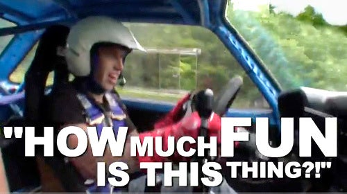 Ken Block, Chris Atkinson Spank A Vintage Ford Escort In Woods