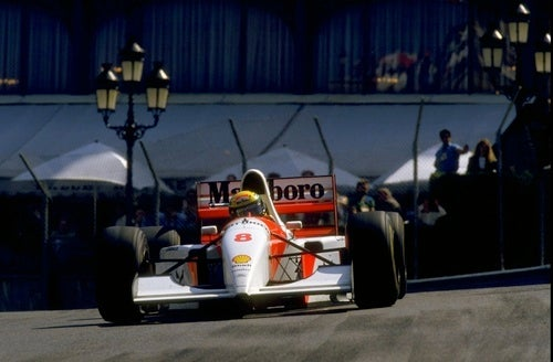Ayrton Senna On The Very Edge