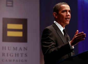 """President Obama: """"I Will End Don't Ask, Don't Tell. That Is My Commitment To You"""""""