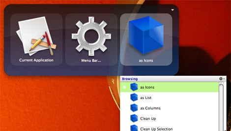 Quicksilver menubar access