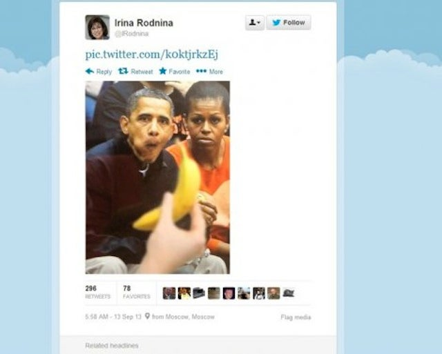 Lady Who Just Lit Olympic Flame Tweeted A Racist Picture Of The Obamas