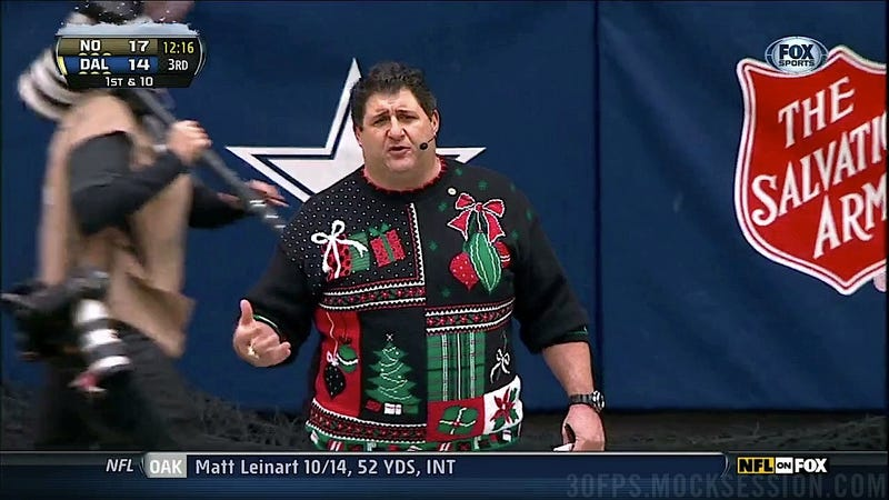 Mercifully, Tony Siragusa Will Not Appear On Your Televisions This Playoff Season