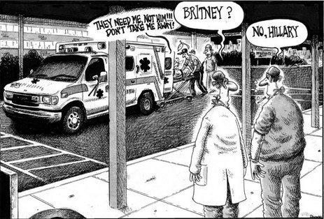 Limey Perv Loves Bigot Cartoonist