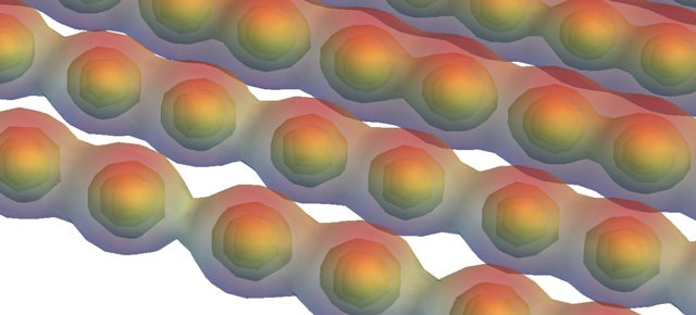 This 1D Graphene Switches from Conductor to Insulator When It Stretches