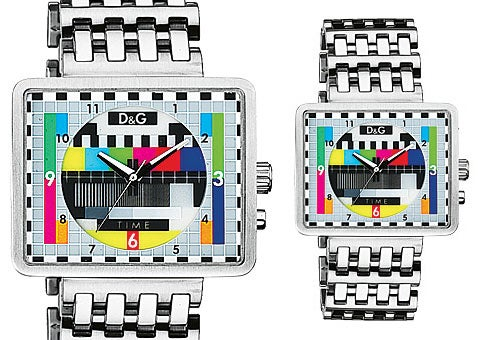 D&G Medicine Man Watch, Colorbars Cure Drab Style