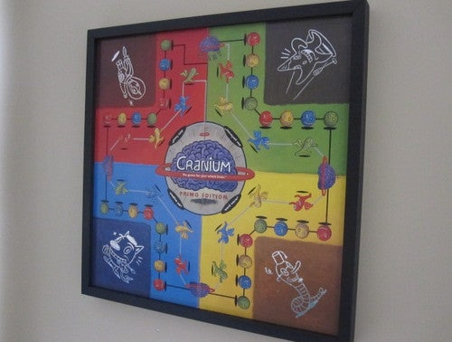 Store Your Board Games by Displaying Them As Art