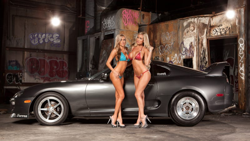 Swimsuit Model Jess Barton's Stripped Supra Parts Have Been Recovered