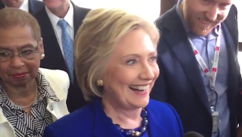 Hillary Gives Refreshing Answer On Potential VP Pick