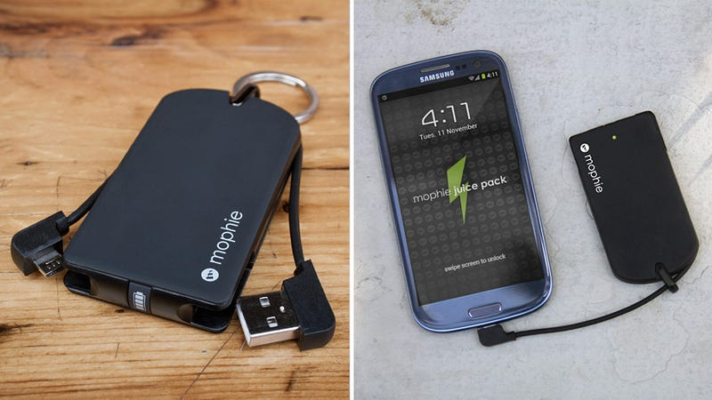 Mophie's New Battery Pack Is So Tiny, It Could Make Carrying It Around Less of a Hassle