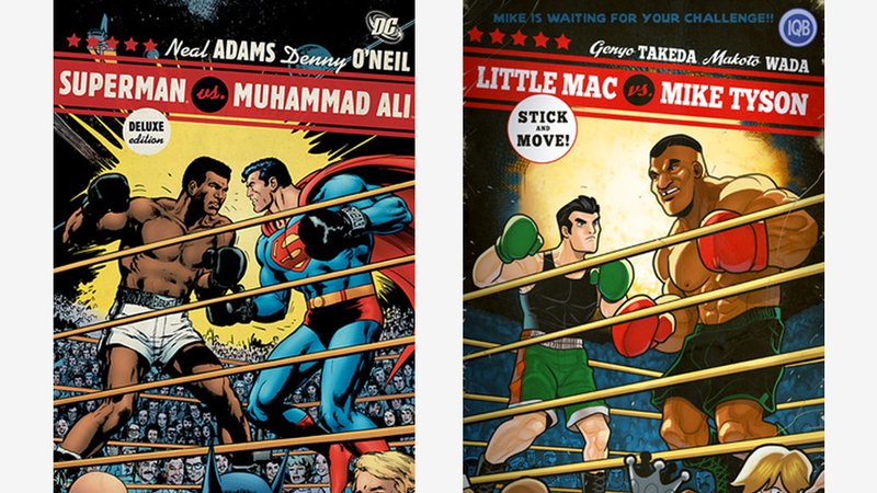 This Punch-Out Homage Makes It Seem like Superman Had It Easy