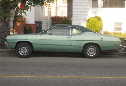 1974 Plymouth Duster Down On The Alameda Street