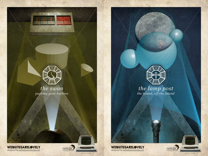 These Lost Dharma Posters Are Your New Smartphone Wallpapers