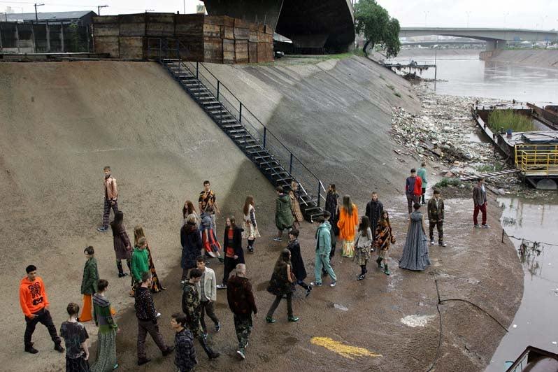 Toxic Fashion Show Celebrates Pollution
