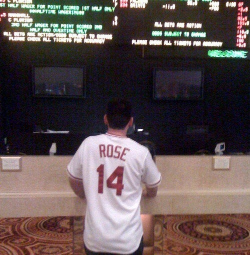He'll Never Be Banned From The Gambling Hall of Fame