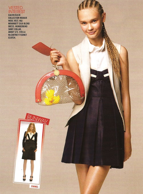 """Teen Vogue: Be A """"Gender Bender"""" With A Blazer & Cornrows"""