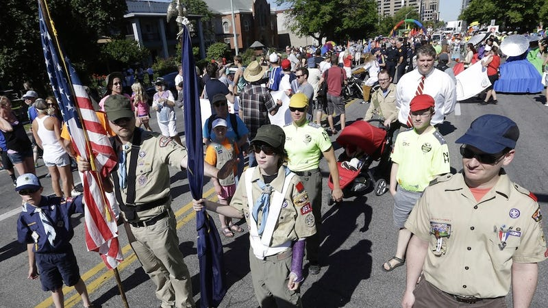 Boy Scout Leaders Could Lose Memberships for March in Gay Pride Parade