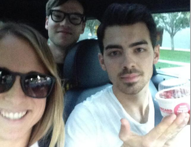Some Clusterfuck of Brands Turned Joe Jonas Into an UberX Driver