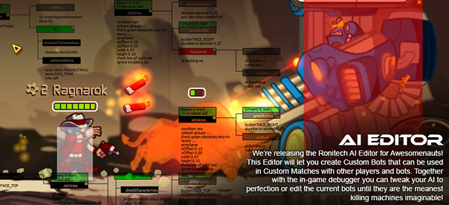 Next Awesomenauts Patch Will Include New Character, AI Editor