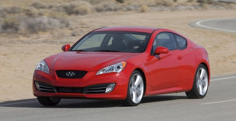 Hyundai Genesis Coupe Price To Start At $22,000