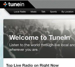 Five Best Internet Radio Services